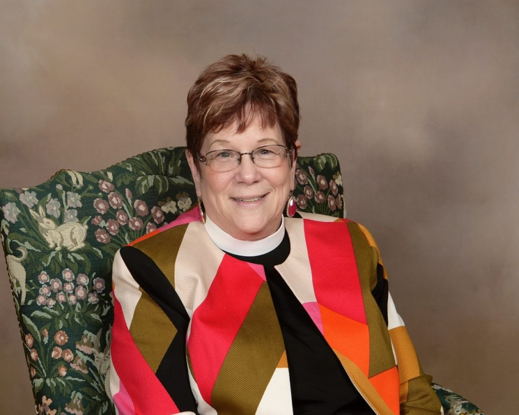 Mother Judith Delmasso of St. Albans Episcopal Church